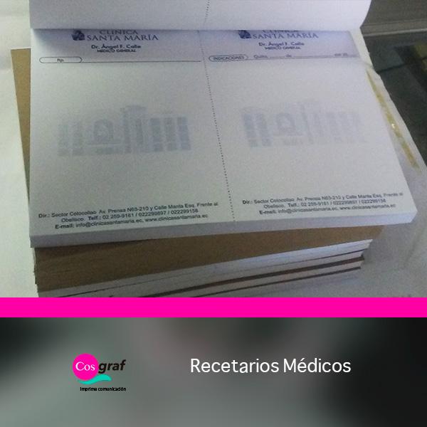 Imprentas quito, imprenta quito, recetarios médicos, facturas,