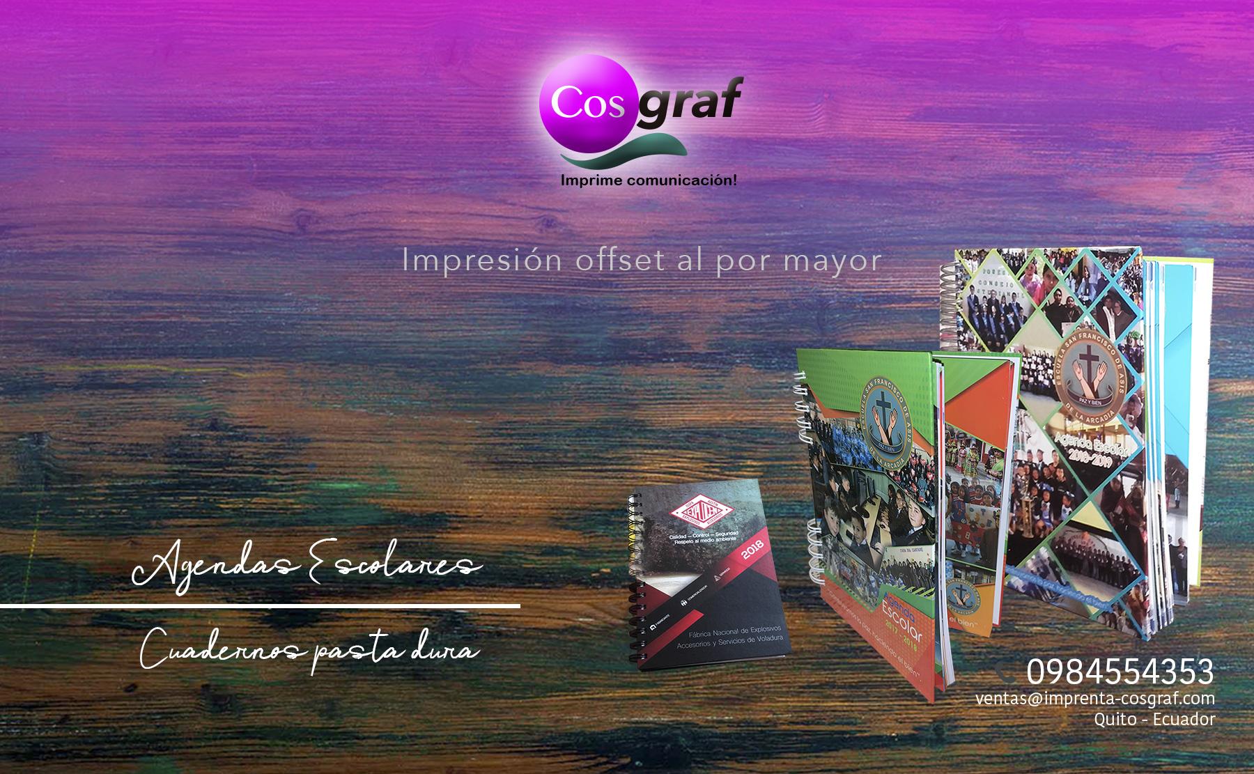 IMPRENTA Cosgraf, 0984554353 Quito norte